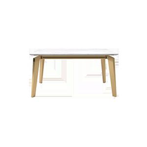 现代轻奢实木长方形餐桌