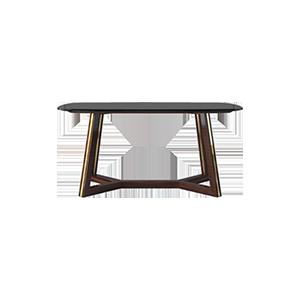 现代轻奢大理石餐桌
