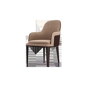 意式后现代轻奢餐椅