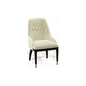 轻奢实木后现代餐椅