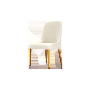 轻奢后现代意式简约餐椅