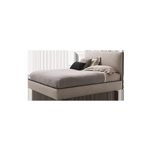 现代创意简约双人床