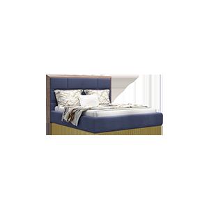 后现代轻奢美式双人床