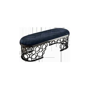 意式轻奢后现代床尾凳