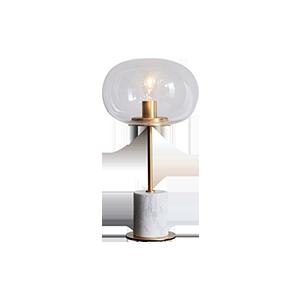 现代大理石装饰台灯