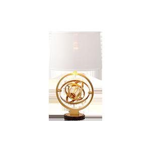 铁艺水晶装饰台灯