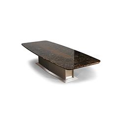 椭圆形皮革会议桌 PARK AVENUE JMM JMM品牌 Jose Martinez Medina 设计师