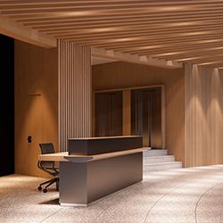 木制办公室接待台 AL&W JMM JMM品牌 Jose Martinez Medina 设计师