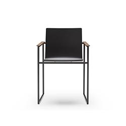 带扶手的雪橇漆椅 Copenhagen | sled chair JMM JMM品牌 Jose Martinez Medina 设计师