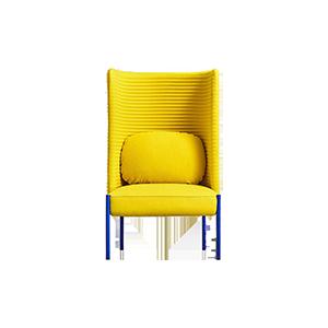 北欧现代设计师布艺休闲椅