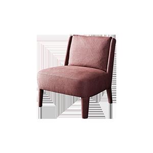 北欧创意迷你布艺休闲椅