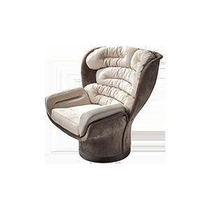 后现代简约真皮个性休闲椅