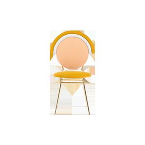 北欧不锈钢餐椅