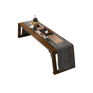 新中式现代简约实木书桌