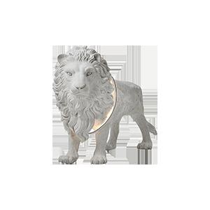 后现代狮子落地灯