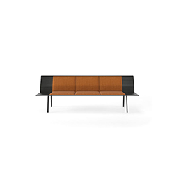 TORII 大厅长凳 TORII  bench Viccarbe Viccarbe品牌 Ludovica & Roberto Palomba 设计师