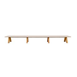 Trestle bench 长凳 Trestle bench Viccarbe Viccarbe品牌 John Pawson 设计师
