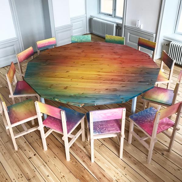Rohsska 木椅