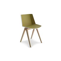 AIKU 洽谈椅/餐椅 AIKU MDF Italia