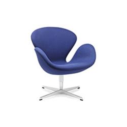 阿恩·雅各布森天鹅椅 arne jacobsen swan chair 弗里茨 汉森 fritz hansen品牌 Arne Jacobsen 设计师