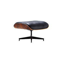 伊姆斯休闲脚踏 eames® lounger  ottoman 赫曼米勒 herman miller品牌 Charles & Ray Eames 设计师