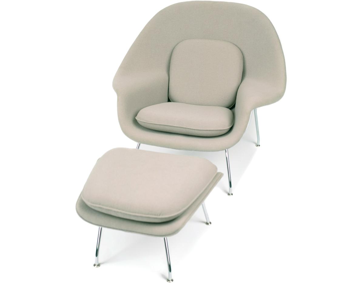 Fine Womb Chair And Ottoman B009 Ansuner Modern Furniture Machost Co Dining Chair Design Ideas Machostcouk