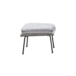 子宫脚踏 womb ottoman knoll Eero Saarinen