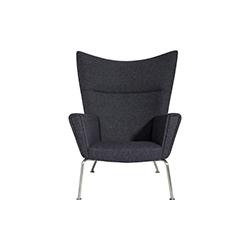 翼椅 wegner wing chair 汉斯·魏格纳 Hans Jogensen Wegner