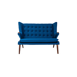 泰迪熊沙发 teddy bear sofa PP Møbler PP Mobler品牌 Hans Jogensen Wegner 设计师