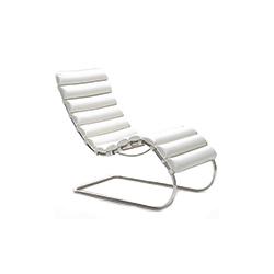 德维希休闲躺椅 MR chaise lounge 诺尔 knoll品牌 Ludwig Mies van der Rohe 设计师