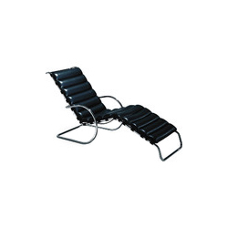 德维希休闲躺椅  MR chaise longue chair 诺尔 knoll品牌 Ludwig Mies van der Rohe 设计师
