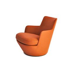 掉头扶手椅 low turn armchiar 本森 Bensen品牌 Niels Bendtsen 设计师
