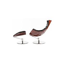 龙虾椅&脚踏 lobster chair and ottoman 奥卢夫·隆德&伊娃·帕尔曼 Oluf Lund & Eva Paarmann