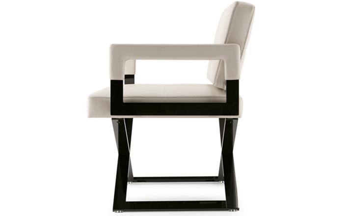皮革简易椅