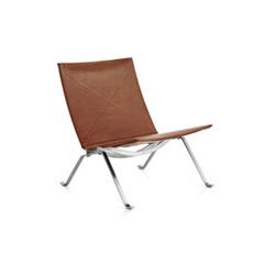 安乐椅 poul kjaerholm pk22 弗里茨 汉森 fritz hansen品牌 Poul kjaerholm 设计师