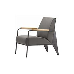 fauteuil de salon扶手椅 fauteuil de salon armchair 维特拉 vitra品牌 Jean Prouve 设计师
