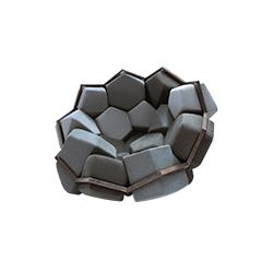 石英扶手椅 quartz armchair