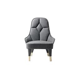 艾玛休闲椅 emma lounge chair FARG &布兰奇 Fredrik Farg & Emma Marga Blanche