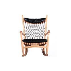 摇椅 wegner rocking chair PP Møbler PP Mobler品牌 Hans Jogensen Wegner 设计师