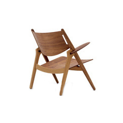 汉森简易椅 ch28p upholstered easy chair 汉斯·魏格纳 Hans Jogensen Wegner