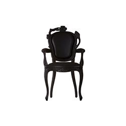 烟扶手餐椅 smoke dining armchair 马腾·巴斯 Maarten Baas
