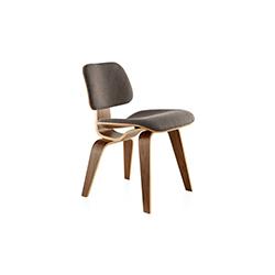 伊姆斯软垫木制餐椅 eames upholstered dcw 赫曼米勒