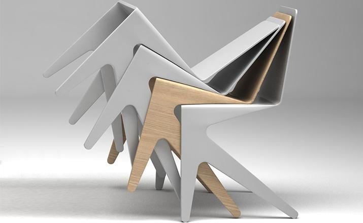 Michael Bihain Michael Bihain| 蚊子椅 mosquito chair