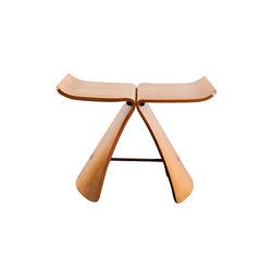 蝴蝶凳 butterfly stool 维特拉 vitra品牌 Sori Yanagi 设计师