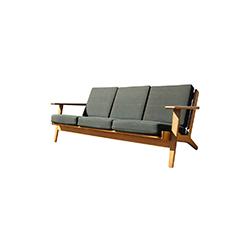 GE290三座椅 GE290 3-seater chairs erik jorgensen Hans Jogensen Wegner