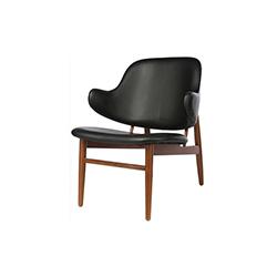 拉尔森简易椅 larsen easy chair Ib kofod-larsen Ib kofod-larsen