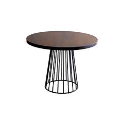 钢丝餐桌 wired dining table phese design Reza Feiz