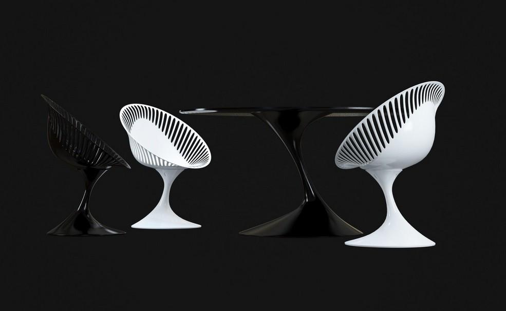 桌几|餐桌|创意家具|现代家居|时尚家具|设计师家具|定制家具|实木家具|ziliani atatlas table
