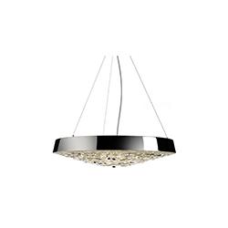 情人节水平吊灯 valentine flat crystal pendant lamp moooi Marcel Wanders