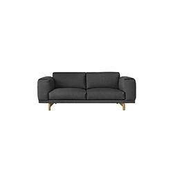 安德森&沃尔工作室 Anderssen & Voll| 休息双座沙发 rest 2-seater sofa